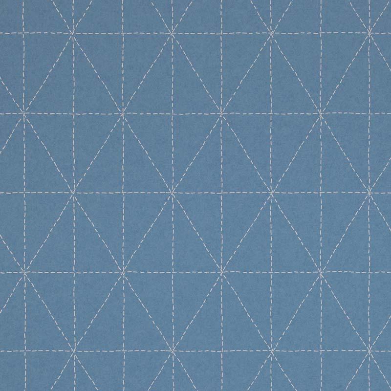Papier Peint Geometrique Bleu 219030 De La Collection Papier Peint