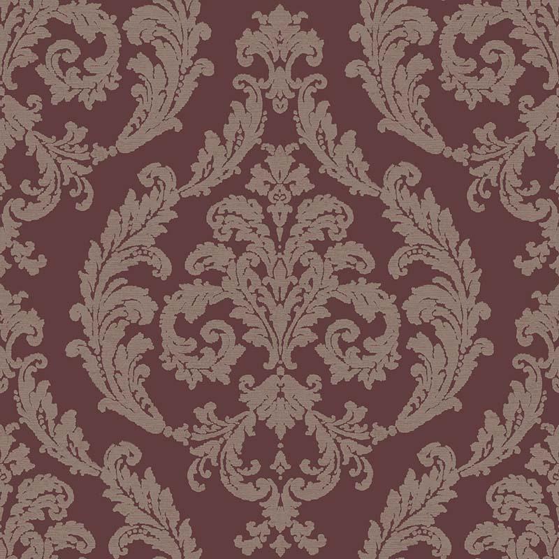 papier peint medaillon fond bordeaux g67611 de la. Black Bedroom Furniture Sets. Home Design Ideas