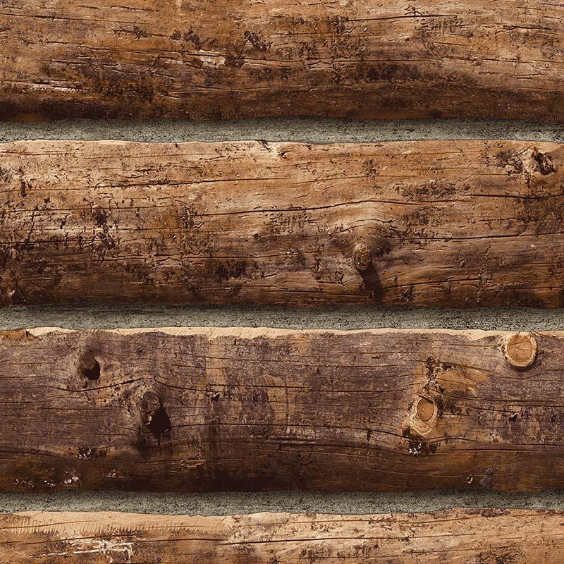 Papier Peint Planche En Bois Marron Fonce Td32206 De La Collection