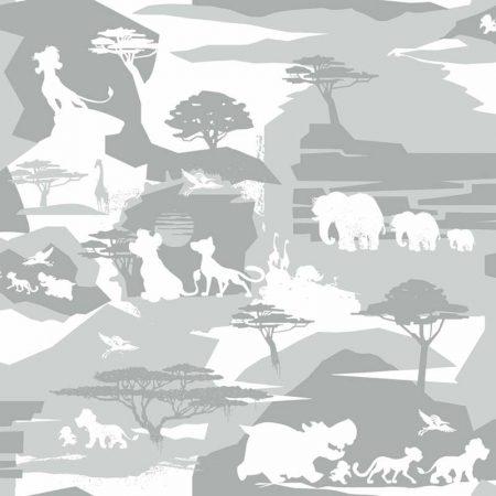 LA GARDE DU ROI LION GRIS – DY0107
