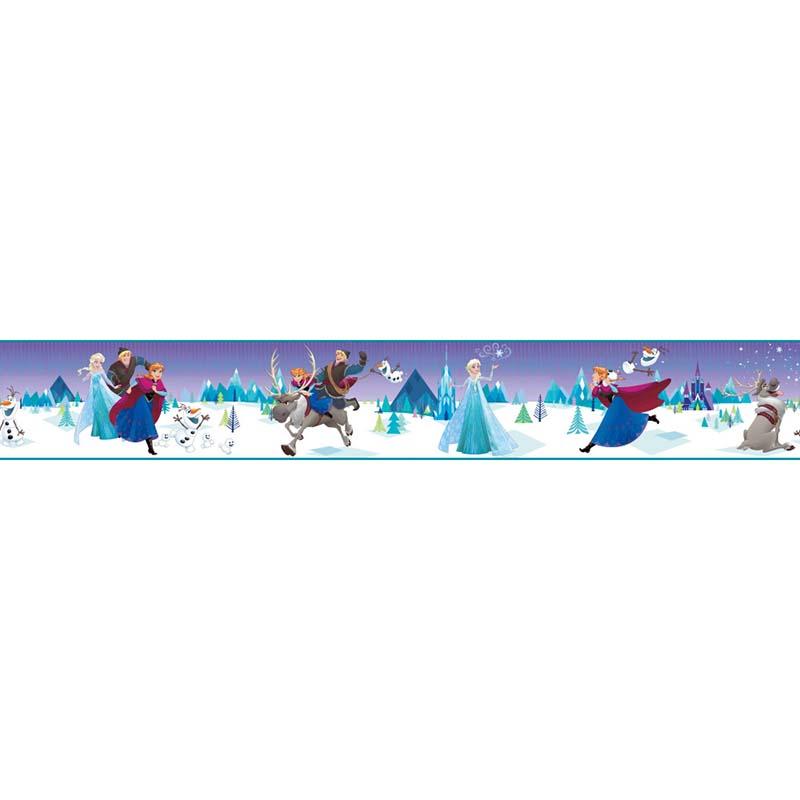 Collection papier peint disney marvel star wars papier - Frise reine des neiges ...