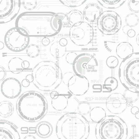 COMPTEUR CARS 3 BLANC – DY0196