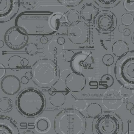 COMPTEUR CARS 3 GRIS FONCE – DY0197