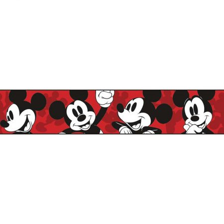 FRISE CLASSIC MICKEY ROUGE – DY0215BD