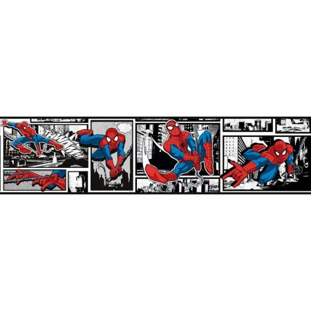 FRISE ULTIMATE SPIDERMAN BLANC – DY0250BD