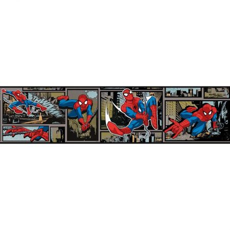 FRISE ULTIMATE SPIDERMAN ARGENT – DY0252BD