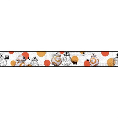FRISE STAR WARS BB8 ORANGE – DY0311BD