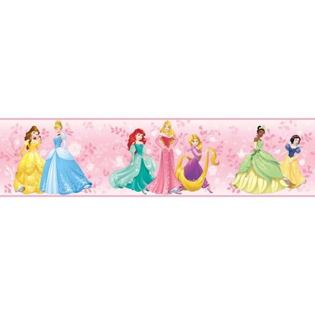 FRISE PRINCESSES DISNEY ROSE – DY0334BD