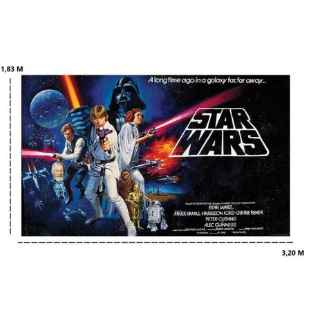 DECOR MURAL STAR WARS 7LES – JL1217M