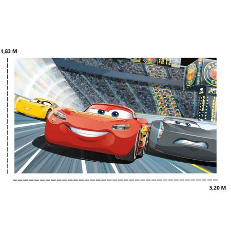 DECOR MURAL CARS 3 7LES – JL1436M