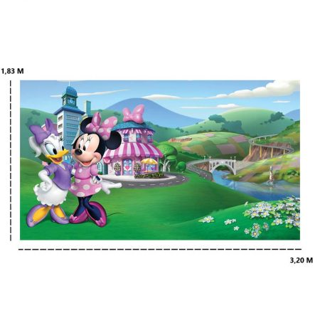 DECOR MURAL MINNIE ET DAISY 7LES – JL1437M