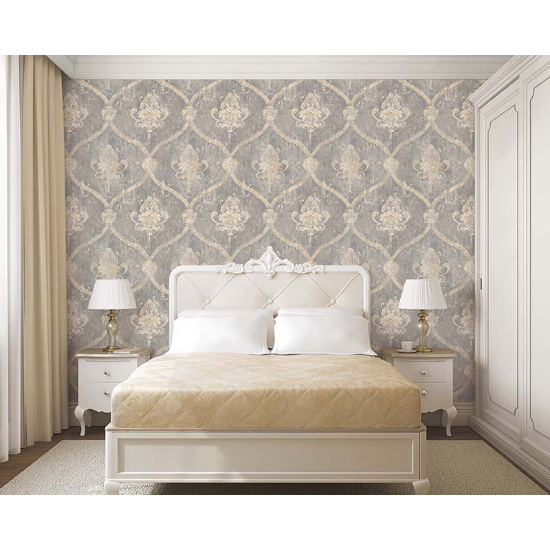 BEAUMANOIR | REGAL DAMASK GRIS - MH36506