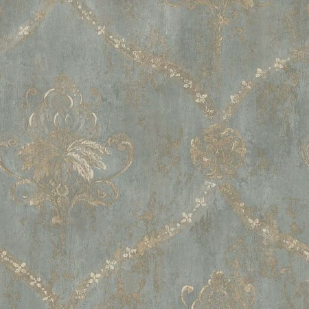 REGAL DAMASK TURQUOISE – CH28248