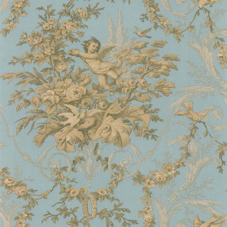 FABRIC TOILE VERT – CH28309