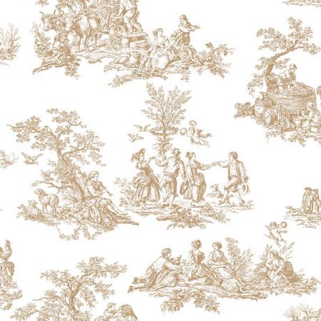 ROMANTIC TOILE MARRON – MH36501