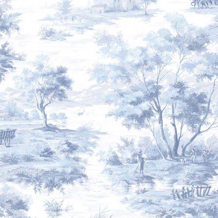 LA CAMPAGNE BLEU FOND BLANC – MH36512