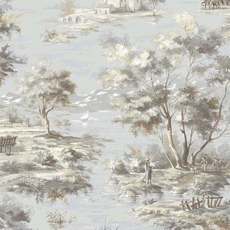 LA CAMPAGNE FOND BLEU – MH36514