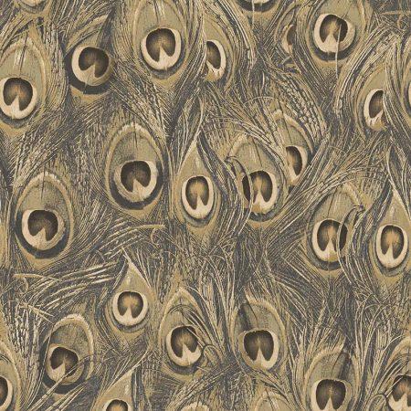 PLUME DE PAON GOLD MARRON – MH36521