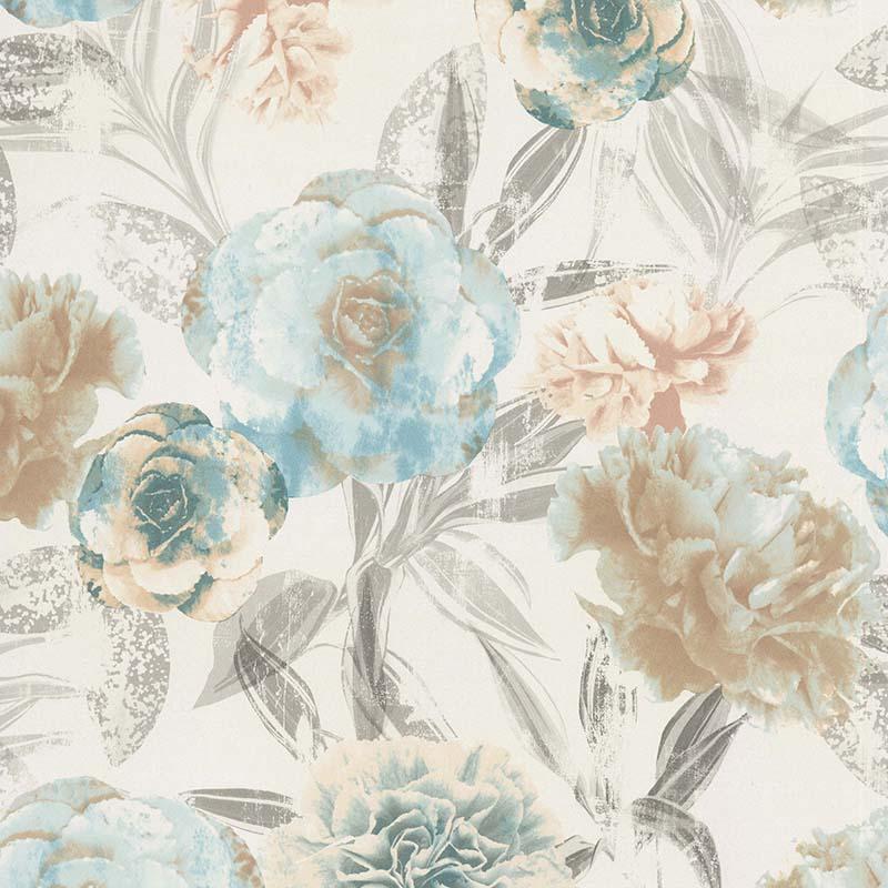 papier peint pivoine bleue 11171101 de la collection papier peint les essentiels classique et. Black Bedroom Furniture Sets. Home Design Ideas