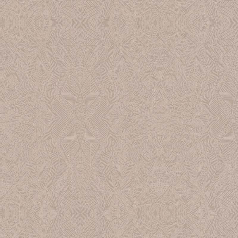 Papier Peint Ethnique Rose Poudre 672830 De La Collection Papier