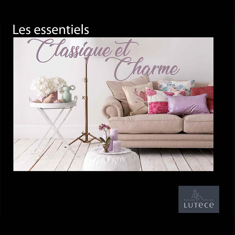 Collection Papier Peint Les Essentiels Classique Et Charme Papier