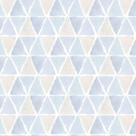ALLOVER TRIANGLE BEIGE BLEU – CK36638