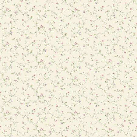 RAMAGE FLEURI FOND JAUNE – G67922