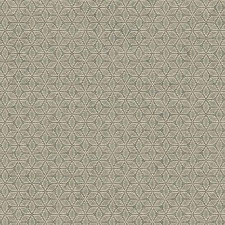 FLEUR ART DECO MARRON – SD61106