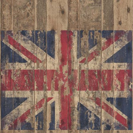 UNION JACK BOIS MARRON – G45384