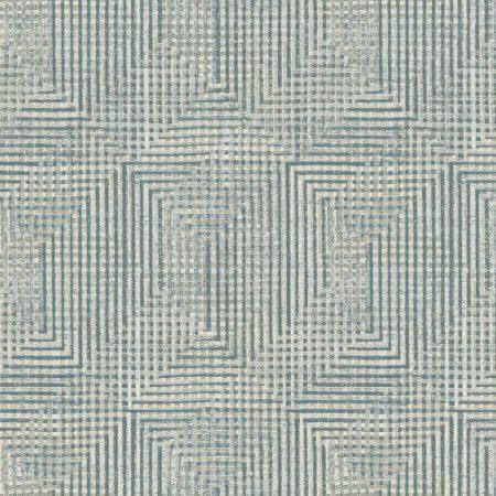 GEOMETRIQUE GRIS BLEU – HO3322