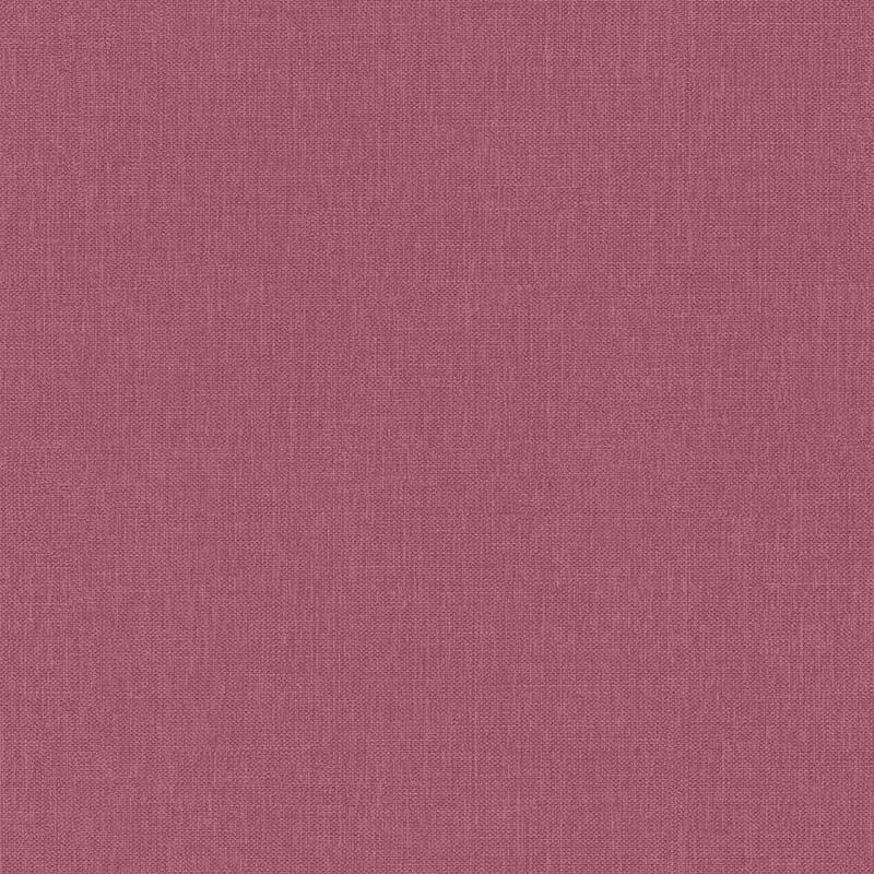 Papier Peint Uni Toile Rose Fonce 11161013 De La Collection Papier