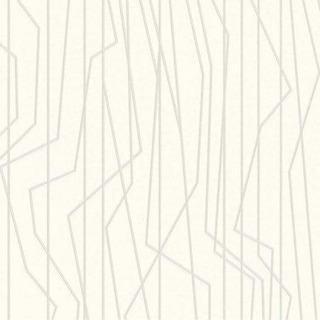 OBLIQUE ARGENTE FOND BLANC – 368783