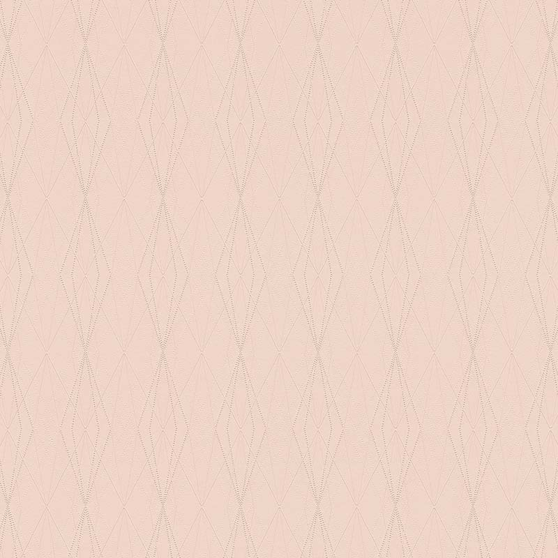 Papier Peint Losange Rose Pale 368795 De La Collection Papier