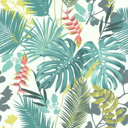 JUNGLE MIX VERT ET CORAIL – 51178304A