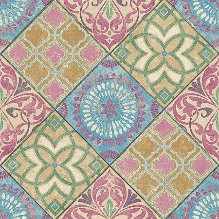 CARREAU FAIENCE MULTICOULEUR – TP80301