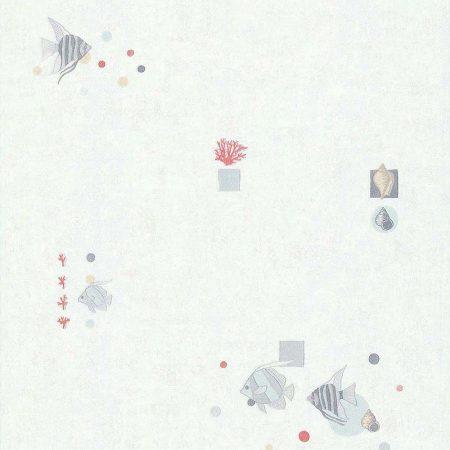 POISSON CORAIL FOND GRIS – 11140509B