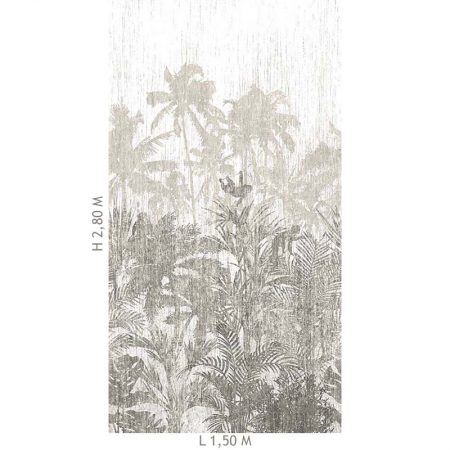 DECOR MURAL JUNGLE 3 LES SEPIA – 200350DX