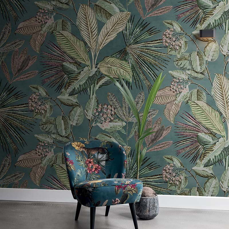 SAVANA | DECOR MURAL TROPICAL 5 LES MULTICOULEUR - 200354