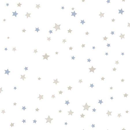 ETOILES BEIGE ET BLEU CLAIR – 5439