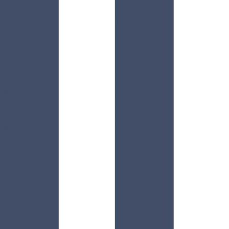 LARGE RAYURE NAVY ET BLANC – 5476
