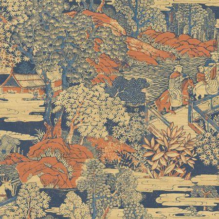 PAYSAGE JAPON CUIVRE – AF40806