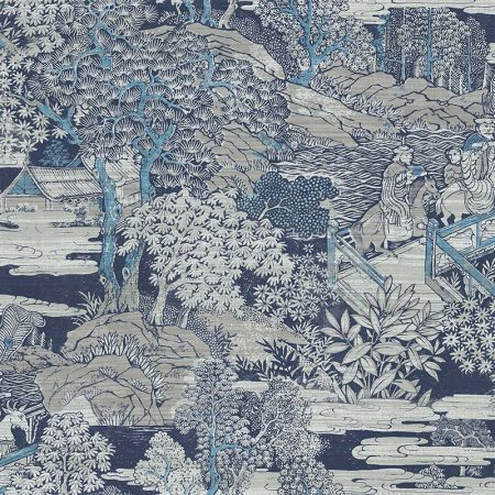 PAYSAGE JAPONAIS BLEU – AF40808