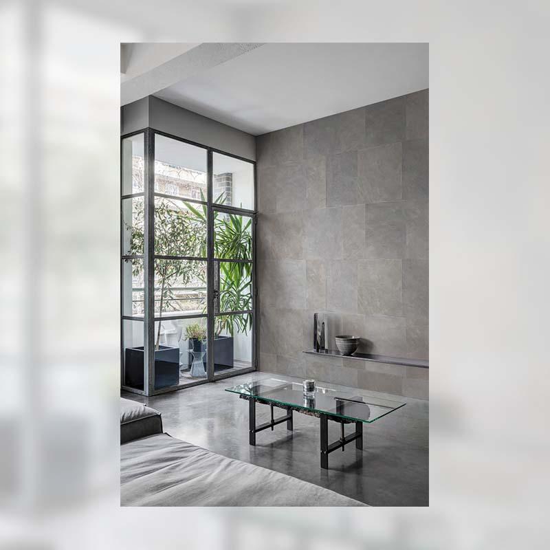 Luxe Renouveau | CARRELAGE GRIS ET BRONZE - RH20300