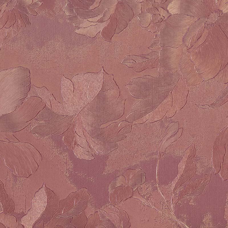 REFLET FLEURI ROUGE TOMETTE – 24445