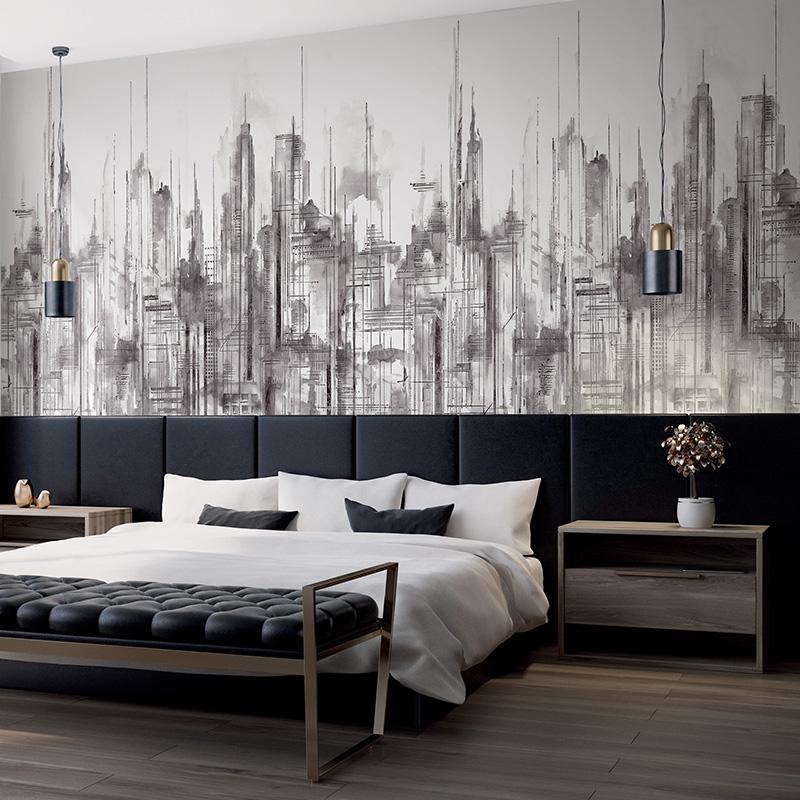 Skyline | DÉCOR MURAL IMPRESSION NUMÉRIQUE SKYLINE 5 LÉS - SK91500M