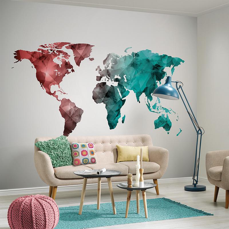 DesignWalls | WORLD GRAPHIC 2 - DD118708